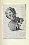 Aristotle Framed Prints - Aristotle, Ancient Greek Philosopher Framed Print by Science, Industry & Business Librarynew York Public Library