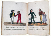 Primer Prints - ARITHMETIC BOOK, c1815 Print by Granger