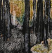 Autumn Landscape Reliefs - Aritst Proof 2 by Claudine Luchsinger