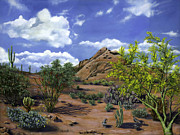Scottsdale Paintings - Arizona by Lisa Reinhardt