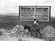 Old West Prints - Arizona: Tombstone, 1937 Print by Granger