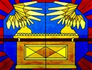 Ark Mixed Media Posters - Ark of the Covenant Poster by Michelle Young