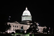 Arkansas State Capital Print by Joe Finney