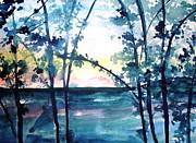 Arkansas Sunset Print by Robin Miller-Bookhout