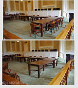 Industrial Sculptures - Arkansas Supreme Court Tables by Dryad Studios