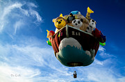Balloon Festival Art - Arky  Noahs Ark by Bob Orsillo
