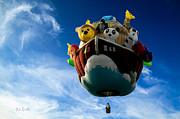 Arky  Noah's Ark Print by Bob Orsillo