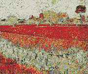 Modified Image - Arles - Modified Van Gogh