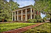 Mansion Digital Art Prints - Arlington House Print by Lianne Schneider