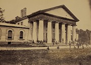 Slavery Prints - Arlington House, Now A National Park Print by Everett