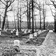 Grave Photos - Arlington National Cemetery - c 1867 by International  Images