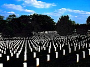 Arlington National Cemetery Print by Valia Bradshaw