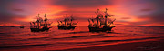 At Sunset Digital Art - Armada by Lourry Legarde