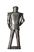 Medieval Sculptures - Armadura Medieval. Medieval knight armor.  by Antonio Carpenito
