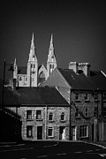 Old Houses Framed Prints - Armagh St Patricks Catholic Cathedral Ireland Framed Print by Joe Fox