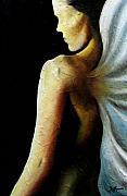 Armaita Angel Of Truth Wisdom And Goodness Print by Elizabeth Lisy Figueroa