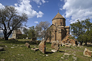 Turkey Metal Prints - Armenian Church on Adkamar Island Metal Print by Michele Burgess