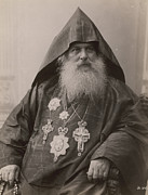 Clergy Photos - Armenian Patriarch Of Jerusalem by Colby M. Chester