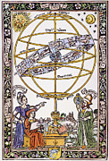 Armillary Framed Prints - Armillary Sphere Framed Print by Granger