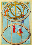 Armillary Posters - Armillary Sphere Poster by Science Source