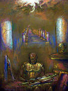 Sword Pastels - Armor of God by Tommy  Winn