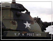 Vfw Posters - Armored Tank Poster by Rose Santuci-Sofranko