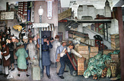 Police Art Art - Arnautoff: City Life, 1934 by Granger