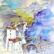Rioja Prints - Arnedillo in La Rioja Spain 02 Print by Miki De Goodaboom