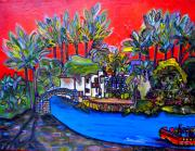 Riverwalk Paintings - Arneson Theater II by Patti Schermerhorn