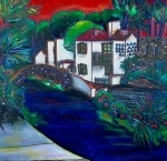 San Antonio Paintings - Arneson Theater by Patti Schermerhorn