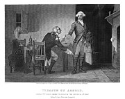 Meeting. Point Framed Prints - Arnold & Andre, 1780 Framed Print by Granger