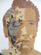 Featured Reliefs Prints - Arnold Schwarzenegger Print by Kovats Daniela