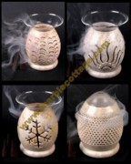 Oil Ceramics - Aroma Candle Holder by Mohammad Azhar