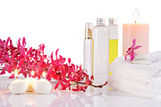 Still Life Photo Originals - Aromatherapy by Atiketta Sangasaeng