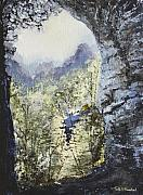 Tn Painting Prints - Around the Bend Print by Todd A Blanchard