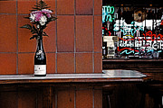 Wine Bottle Wall Art Photos - Around The Corner by Bob Whitt