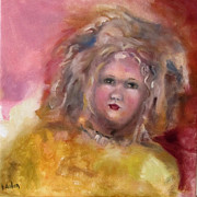 Susan Hanlon Framed Prints - Arranbee Nancy Lee Doll Framed Print by Susan Hanlon