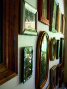 Wood Wall Hanging Framed Prints - Arranged Family Framed Print by Joy Tudor
