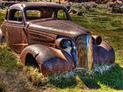 Antique Car Photos - Arrested Decay by Scott McGuire