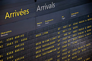 Communication Photos - Arrival departure board at airport by Sami Sarkis