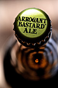 Beer Photo Posters - Arrogant Bastard II Poster by Bill Owen