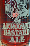Profanity Prints - Arrogant Bastard III Print by Bill Owen