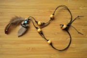 Wood Jewelry Jewelry - Arrow head necklace2 by Opal Cintron-Heese