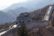Great Wall Photos - Arrow Tower on the Great Wall by George Oze