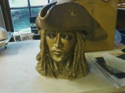 Thief Sculptures - Arrrr you into pirates by  Rosanna Hardin