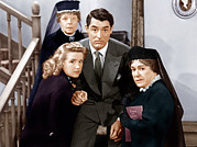 Cary Framed Prints - Arsenic And Old Lace, From Left Framed Print by Everett