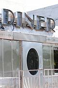 Architecture Digital Art Originals - Art Deco Diner by Rob Hans