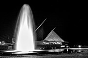 Art Museum Prints - Art Fountain Print by CJ Schmit