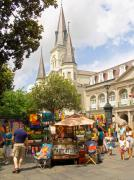St. Louis Art Originals - Art in Jackson Square by Jim Sweida