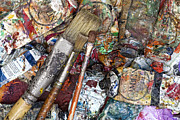 Brush Photos - Art Is Messy 5 by Carol Leigh